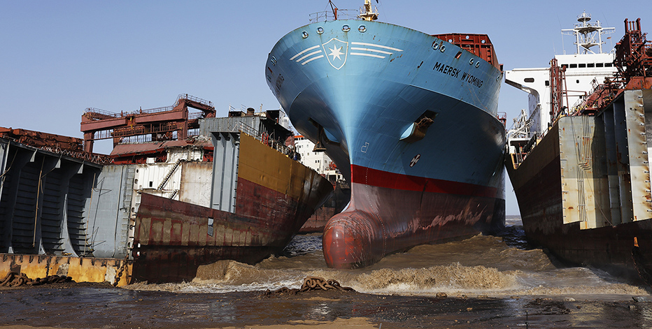 Утилизация судна с продажей металлолома